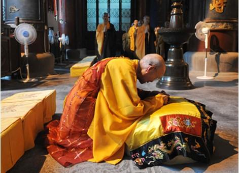 佛教跪拜礼仪
